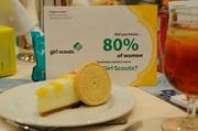 The Girl Scouts Heart of Central California were one of the event sponsors and provided cookies for all the attendees.