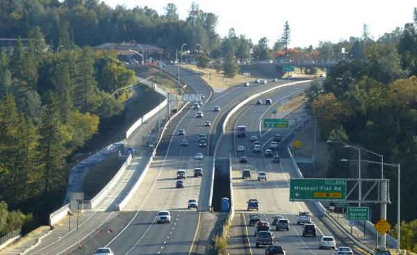 The Highway 50 interchange at Missouri Flat Road has been completed. The project to make improvements and add carpool lanes in El Dorado County took about five years and accounted for about 1,800 jobs.