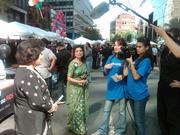A Crossings TV crew covers a Deepavali or Diwali festival, a traditional Hindu festival of lights.