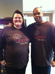 Rob Porter of Drizzle Cupcakes was a contestant on an episode of Cupcake Wars. His episode, which airs Aug. 5, was filmed in Feburary. Here, he's seen with his Cupcake Wars partner.
