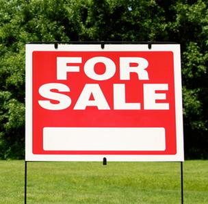for sale sign land