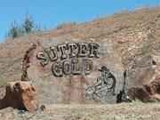 The entrance to Sutter Gold Mining's Lincoln Mine. The mine shaft had been used for a decade as the Sutter Gold mine tour, a tourist attraction. When serious development of the mine began last year, tours were canceled because the parcel now is a busy construction zone.