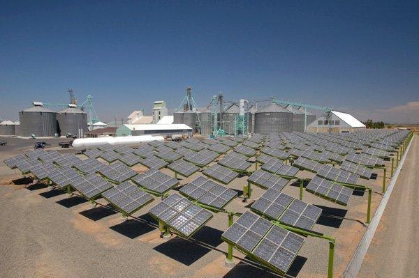 GreenVolts Inc. has commissioned a 464-kilowatt solar plant at Van Dyke's Rice Dryer in Pleasant Grove.
