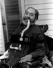 Ed Roberts was known as a civil rights leader for people with disabilities. Paralyzed after contracting polio,he fought against perceptions of disability and became the first student with severe disabilities admitted to the University of California Berkeley, after first being told that higher education would be wasted on him. He also launched a the first student-led disability services program and helped create the first Center for Independent Living. He died in 1995.