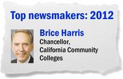 During his 16 years as head of the Los Rios Community College District, Brice Harris was an influential leader in higher education regionally and statewide. A month after retiring in August, Harris agreed to replace the retiring chancellor of the California community college system.