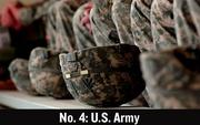 No. 4. In August, the United States Army announced job cuts of 8,700.