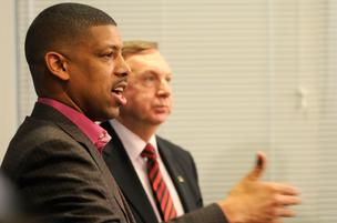 Mayor Kevin Johnson City Manager John Shirey