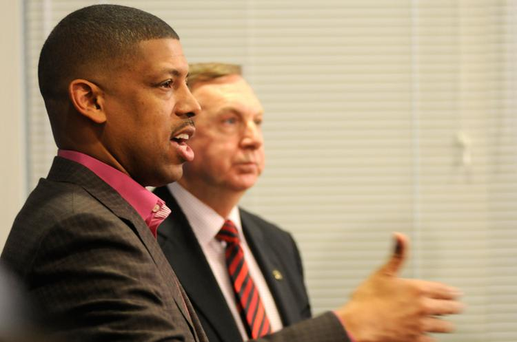 In an update on the Sacramento Kings saga, Sacramento Mayor Kevin Johnson said he still can't announce the identities of potential big-money investors who could offer a counteroffer for the team.