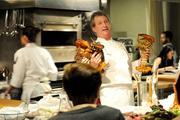 The Kitchen executive chef Randall Selland explains how to cook lobster. He says the sound lobsters make while cooking is steam escaping from the shells, not screams from the lobsters.