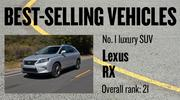 No. 1 luxury SUV. Lexus RX, with 14,451 new vehicles registered in 2012. The vehicle ranked No. 21 among all models.