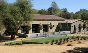 "Exterior of a model home at ""Sierra de Montserrat,"" an upscale development nestled in a working vineyard near Loomis."