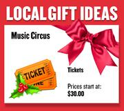 Tickets or gift certificates from Music Circus  Prices start at $30.00  Web: calmt.com  Address: 1419 H Street, Sacramento  916-557-1999