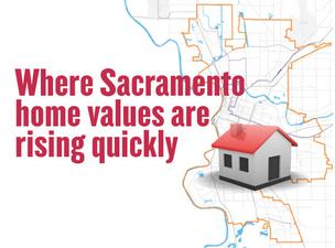 Home values are finally rising again. The trend is tenuous, and uneven, but values are rising in some Sacramento neighborhoods.