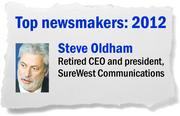 After navigating a difficult business climate for years, SureWest CEO Steve Oldham announced that the company would be sold to Illinois-based Consolidated Communications Holdings. Though small, SureWest has long been regarded as a strong innovator.