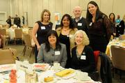 Sacramento's business community on Friday celebrated corporate support of local nonprofits at the Sacramento Business Journal's annual Partners in Philanthropy awards. Here, attendees wait for the awards luncheon to begin.