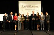 Two dozen companies of all sizes were honored for their support of charitable efforts in the capital region at the annual Partners in Philanthropy awards. Companies honored in the mega category were:Bank of America, Intel Corp., Pacific Gas & Electric Co., Save Mart Supermarkets, Sleep Train Inc., U.S. Bank and Wells Fargo.