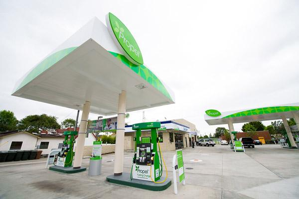 Rocklin businesses that have diesel or flexible-fuel vehicles are being offered free fuel from Propel to encourage first-time users to give alternative fuel a try.