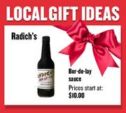 Bor-do-lay sauce from Radich's  Prices start at $10.00  Web: bordolay.com  Phone: 916-985-6434