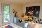 The home office of the Mark Rusconi design. Custom-home buyers are asking for a dedicated space for a home office.