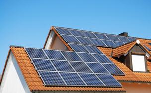 Home solar panels energy efficiency