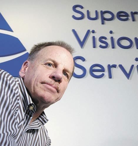 """Superior Vision Services chief executive officer Rick Corbett, seen in this 2007 photo, says the acquisition of the vision insurance company by Nautic Partners is exciting. Membership in the vision insurance company is growing, and the company plans to add employees as it continues to expand. """"Within a five-year period, we expect employment in Sacramento will double,"""" Corbett said."""