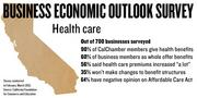 """A new survey of 700 California businesses finds that companies that provide health care benefits do so to recruit and keep employees, as well as to keep employees healthy. And 56 percent of employer said their health care premiums increase """"a lot"""" in the last year. They plan to increase employee contributions to compensate. But 35% of employers said they wouldn't make changes to their benefits structure for the next year."""
