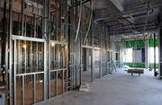 Work on Sutter Medical Center's women and children's facility isn't expected to be completed until 2013. Here, metal studs are visible.