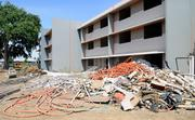 The last of the original Tercero dorms at UC Davis -- just one set of on-campus dorms at the university -- are being demolished now. Six other Tercero buildings, added in 1970, 2005 and 2010, still stand.