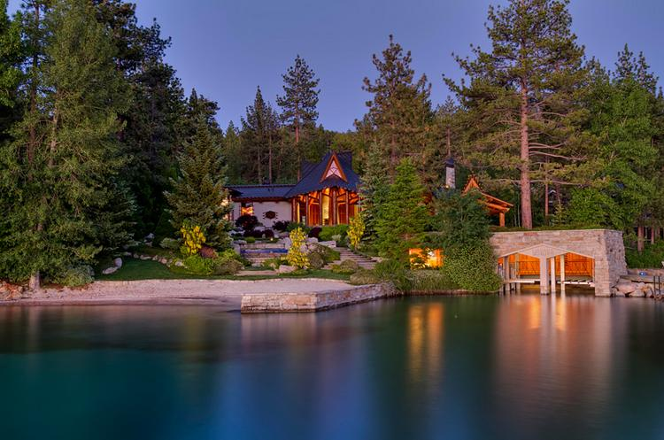 A home in the Zephyr Cove area of Lake Tahoe sold for $20.9 million. It's the third sale of a luxury home more than $15 million in the area in the last three months.