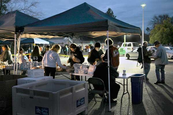 Sacramento Food Bank was awarded a grant from Bank of America that has helped the nonprofit establish farmers markets like this one in several areas of Sacramento that provide free food with a focus on health and nutrition.