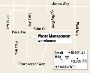 Waste Management subsidiary to set up 'sharps' facility at McClellan