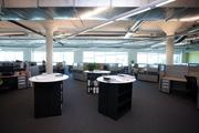 Aecom: Tenant improvement. Three business units with distinct histories were combined into a single location in Sacramento. The interior designers sought to unify the look among the departments while preserving elements of individual identity.