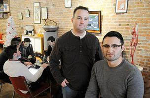 Bamboo Creative founders Aaron Robbins and CJ Alvarado