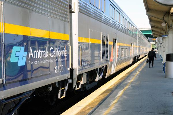 Planned improvements to regional rail service include hourly trains from Sacramento to Silicon Valley by 2017.