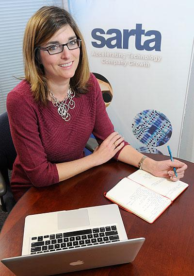 Meg Arnold is CEO of SARTA, which offers programs such as CleanStart to foster clean-tech companies in the region.