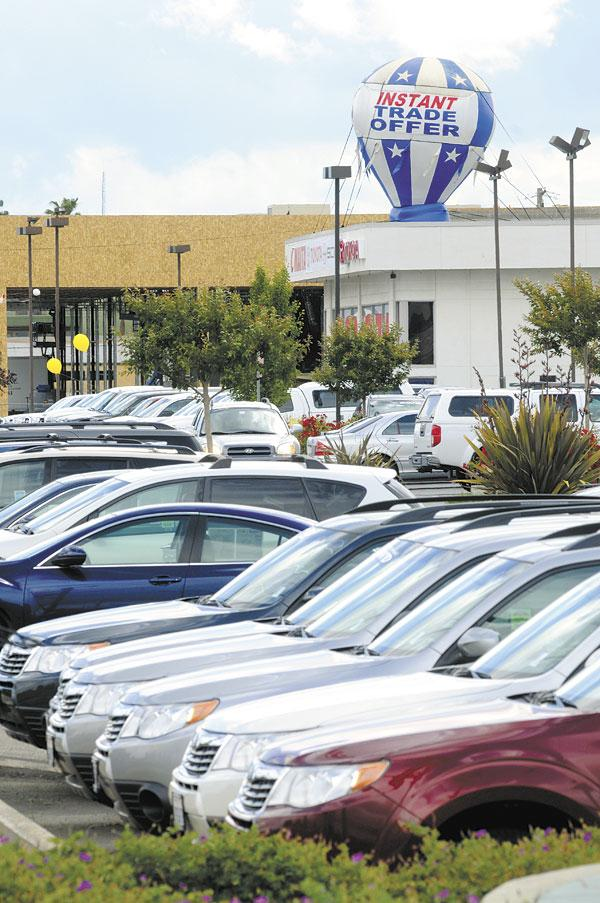 Credit unions are hoping that car lots on Auburn Boulevard and elsewhere see more sales.
