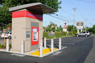 Bank of America closed its branch in East Sacramento, replacing it with an ATM kiosk in a Folsom Boulevard parking lot.