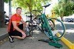 Bike-rack maker finds market in universities, municipalities