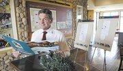 Del Webb sales consultant Bob Dewitt shows off the Glenbrooke community in Elk Grove.