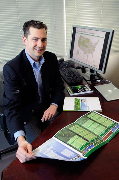 EM-Assist CEO Jeremy Burr says his company sees environmental management as a growth area.