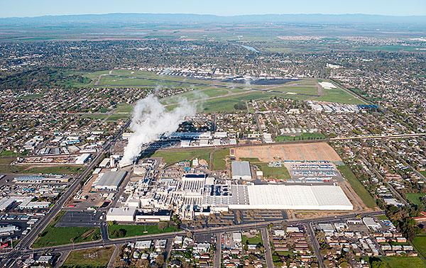 The closure of the Campbell Soup Co. plant in south Sacramento was one of many misfortunes to strike the North Franklin District.