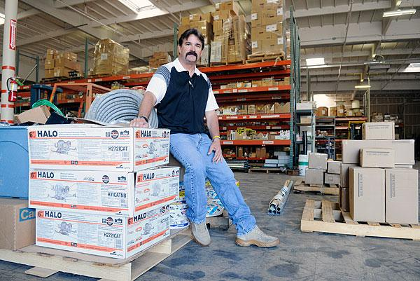 H&D Electric owner Mark Cooper said that business is slowly reviving after the recession.