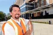 Michael Haviland has been overseeing the renovation since it began in 1998, keeping construction away from DMV employees.