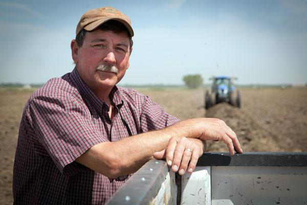 Natomas rice farmer Mike Daddow said he's about 10 days behind schedule to plant his crop.
