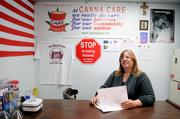 """Canna Care co-owner Lanette Davies says that as county dispensaries close, """"It fosters a black market. The public is not protected and there's no accountability."""""""