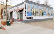 The Del Paso Boulevard district, a once-derelict neighborhood, now is home to Uptown Cafe.