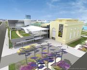 Plans for the proposed $50 million Powerhouse Science Center include displays, planetarium, classrooms, labs, cafe, store, NASA Challenger Learning Center and a 346-space parking garage.
