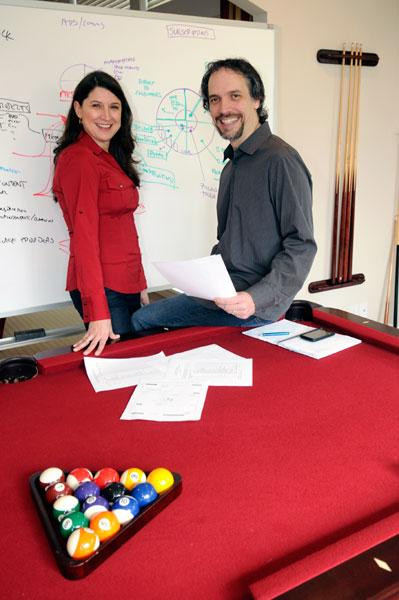 Elizabeth Dodson and John Bodrozic, along with David Ing, founded HomeZada, which tracks home maintenance.