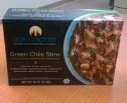 Dos Coyotes' green chile stew will be available in 53 Costco stores in Northern California.