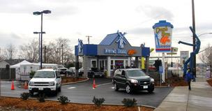 Dutch Bros. Coffee kiosks, like this one in Redding, are coming to the Sacramento area.